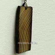 Бижутерия ручной работы Pandantiv din lemn 14 фото