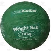 Мяч для атлетических упражнений (Вейтбол) 10 кг фото