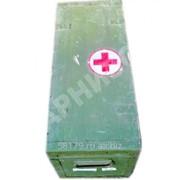 Ящик медицинский деревянный большой фото