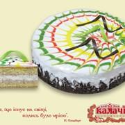 Карнавал, опт торты бисквитные с безе от производителя фото