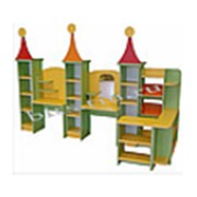 Игровая мебель Город мастеров (уголок доктора / парикмахерская / магазин) фото