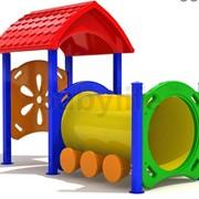 Игровой комплекс для детей Паровозик1 фото