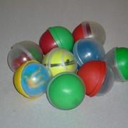 Капсулы d 44мм для упаковки игрушек и сувениров фото