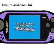 Приставка игровая Mega Drive ARCADE (105 встроенных игр) фиолетовая фото
