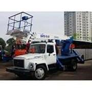 Автогидроподъемник ВИПО-18-01 на шасси ГАЗ-33098 (4х2) фото