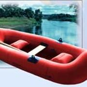Лодка резиновая надувная гребная Турист-3 фото