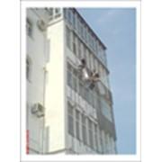Капитальный ремонт крупнопанельных домов. Ремонт фасадов, покраска крыш и восстановление стен. фото