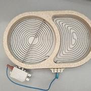 Конфорка для стеклокерамической плиты, двухзонная, D=270/160мм, 2100W, 220-240V фото