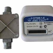 Счетчик газа CГБМ G1,6 фото