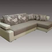 Мягкая мебель диван с оттоманкой фото