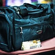 3c896cfa6c22 Дорожная сумка Happypeople среднего размера 42х20х26см черная фото