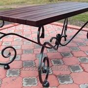 Дачный стол из металла 34