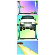 Автомобильный двухстоечный подъемник фото