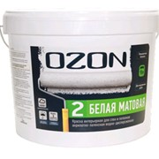 Краска 2,7 л OZON 2 интерьерная матовая ВДАК 222 фото