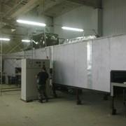 Линия для производства латексных перчаток. фото