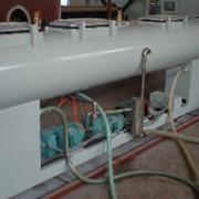 Экструзионная линия по производству водопроводной трубы большого диаметра из ПНД/ПВД фото