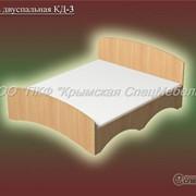 Кровать двуспальная КД-3