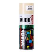 Краска эмаль Алкидная (KUDO) 520 мл бежевая фото