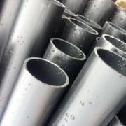 Труба ПНД 140х8 мм для кабеля  техническая гладкая фото