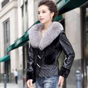 Куртки женские меховые в Алматы фото