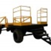 Прицеп платформа для перевозки труб фото