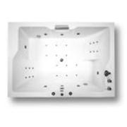 Акриловая ванна ДОРАДО 190х130 с экраном АКВАТЕК фото