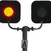 Светофор переездный СП2-1 со звонком 12в (ламповый) фото
