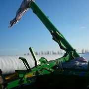 Разгрузочная машина для рукавов с зерном (экстрактор) фото
