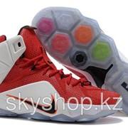 Кроссовки Nike LeBron XII 12 White Red Elite Series 40-46 Код LBXII14 фото