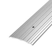 ЛУКА Порог стыкоперекрывающий ПС 07-900-01п серебро (0,9м) 60мм фото