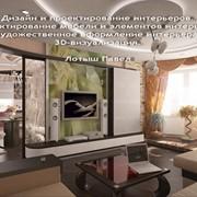 Дизайн частных и общественных интерьеров под ключ. Проектирование авторской мебели и других элементов интерьера из массива. Художественное оформление интерьера, декорирование, 3D-визуализация фото