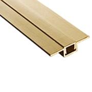 Профиль алюминиевый для панелей с покрытием- Пи заглушка, цвета RAL, 3000 м фото