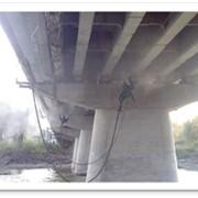 Пескоструйная очистка мостов фото