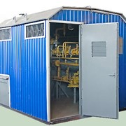 Оборудование и пункты газорегуляторные (ГРП). ГРПБ (газорегуляторные пункты блочные) фото