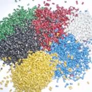 Гранулы полипропиленовые цветные