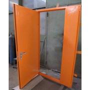 Сертифицированная двупольная противопожарная дверь EI60 фото