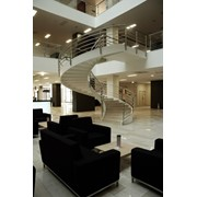 Лестницы спиральные фото