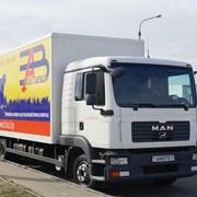 Грузоперевозки фургоном MAN TGL 12.210 фото