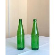 Бутылка из зеленого стекла фотография