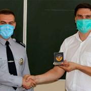 Награда за обучение полиграфологов фотография