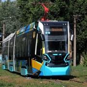 Stadler тестируется на маршрутах Харькова фотография