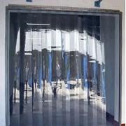 Полосовая ПВХ завеса для холодильных камер. фотография