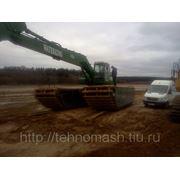 Экскаватор-амфибия в Московской области фотография