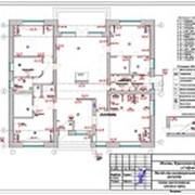 Выполнен проект электрики дома 210 м.кв. фотография