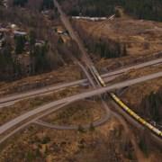 Представлен 7000-тонный супер поезд фотография