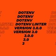 Что нового в dotenv — linter v3.0.0? фотография