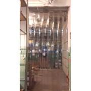 Полосовая ПВХ завеса для ворот фотография