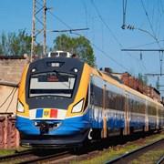 Туристический поезд из Румынии в Украину фотография