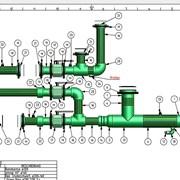 Готовые сборки распределительных блоков Aquatherm фотография