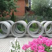 ЖБИ кольца для колодцев в Харькове. фотография